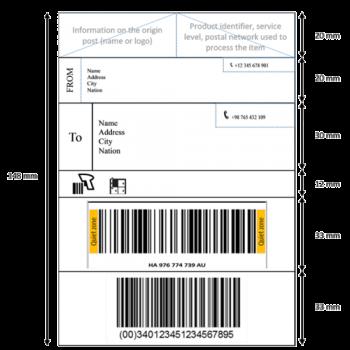 harmonized-parcel-label