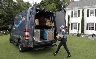 Amazon drives deeper into package delivery