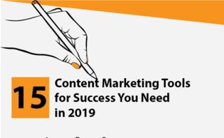 15 Content marketing tools for success you need in 2019