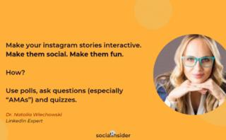 Instagram Stories research