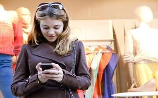 How shoppers search online while in-store
