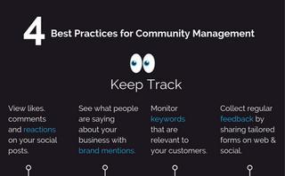 4 Best practices for community management
