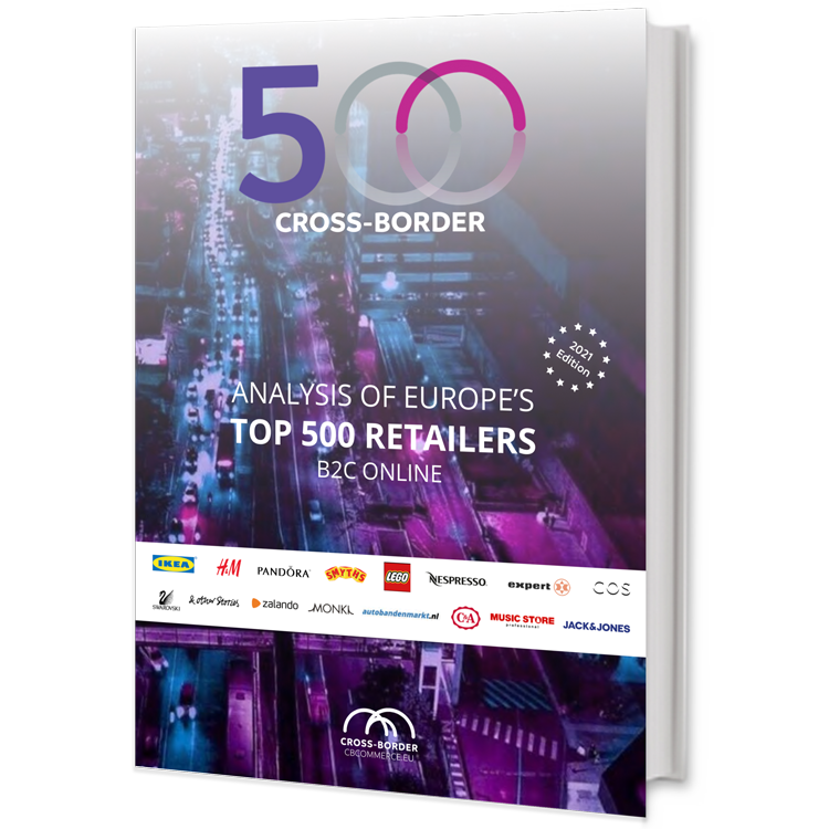 TOP 500 EU Retailers Cross-Border Analysis Report 2021