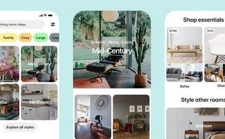 Pinterest adds new 'shop' tabs and curated style guides