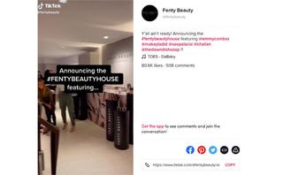 TikTok has seen colossal growth and beauty brands are starting to take notice
