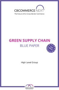 blue paper green supply chain