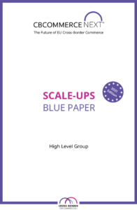 blue paper scale-ups